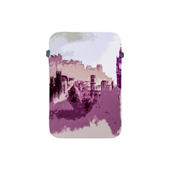 Abstract Painting Edinburgh Capital Of Scotland Apple Ipad Mini Protective Soft Cases by Simbadda