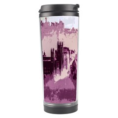 Abstract Painting Edinburgh Capital Of Scotland Travel Tumbler by Simbadda