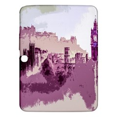 Abstract Painting Edinburgh Capital Of Scotland Samsung Galaxy Tab 3 (10 1 ) P5200 Hardshell Case