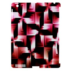 Red And Pink Abstract Background Apple Ipad 3/4 Hardshell Case (compatible With Smart Cover)