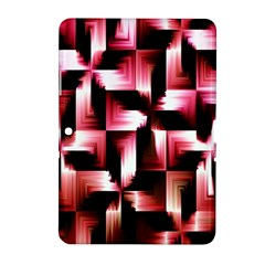 Red And Pink Abstract Background Samsung Galaxy Tab 2 (10 1 ) P5100 Hardshell Case
