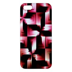 Red And Pink Abstract Background Iphone 5s/ Se Premium Hardshell Case by Simbadda