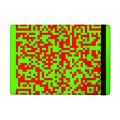 Colorful Qr Code Digital Computer Graphic Ipad Mini 2 Flip Cases