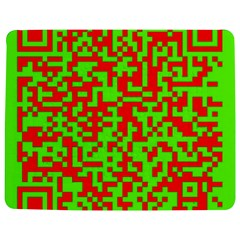 Colorful Qr Code Digital Computer Graphic Jigsaw Puzzle Photo Stand (rectangular) by Simbadda