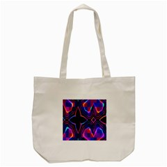 Rainbow Abstract Background Pattern Tote Bag (cream) by Simbadda