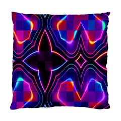 Rainbow Abstract Background Pattern Standard Cushion Case (two Sides) by Simbadda