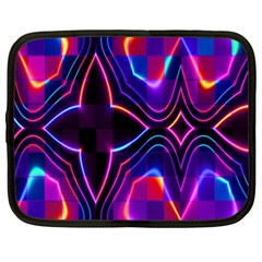 Rainbow Abstract Background Pattern Netbook Case (xl)