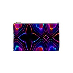 Rainbow Abstract Background Pattern Cosmetic Bag (small)  by Simbadda