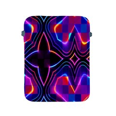 Rainbow Abstract Background Pattern Apple Ipad 2/3/4 Protective Soft Cases by Simbadda