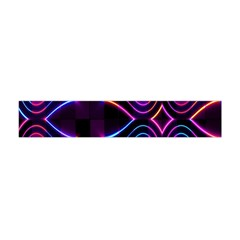 Rainbow Abstract Background Pattern Flano Scarf (mini) by Simbadda
