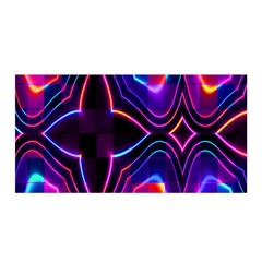 Rainbow Abstract Background Pattern Satin Wrap