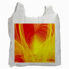 Realm Of Dreams Light Effect Abstract Background Recycle Bag (one Side) by Simbadda