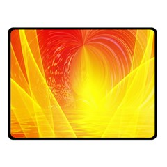 Realm Of Dreams Light Effect Abstract Background Fleece Blanket (small) by Simbadda