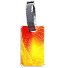 Realm Of Dreams Light Effect Abstract Background Luggage Tags (one Side)  by Simbadda