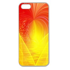 Realm Of Dreams Light Effect Abstract Background Apple Seamless Iphone 5 Case (clear) by Simbadda