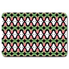 Abstract Pinocchio Journey Nose Booger Pattern Large Doormat