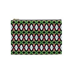 Abstract Pinocchio Journey Nose Booger Pattern Cosmetic Bag (medium)  by Simbadda