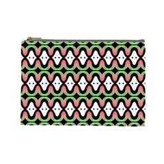 Abstract Pinocchio Journey Nose Booger Pattern Cosmetic Bag (large)  by Simbadda