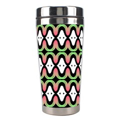Abstract Pinocchio Journey Nose Booger Pattern Stainless Steel Travel Tumblers by Simbadda