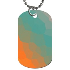 Abstract Elegant Background Pattern Dog Tag (one Side)