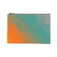 Abstract Elegant Background Pattern Cosmetic Bag (large)