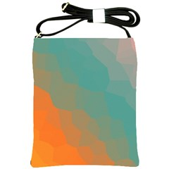 Abstract Elegant Background Pattern Shoulder Sling Bags by Simbadda
