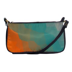 Abstract Elegant Background Pattern Shoulder Clutch Bags by Simbadda