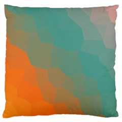 Abstract Elegant Background Pattern Large Cushion Case (two Sides)