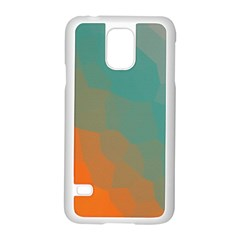 Abstract Elegant Background Pattern Samsung Galaxy S5 Case (white)