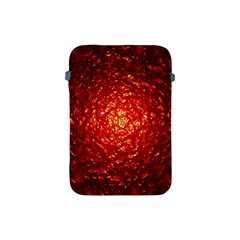 Abstract Red Lava Effect Apple Ipad Mini Protective Soft Cases