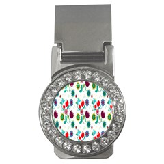 Lindas Flores Colorful Flower Pattern Money Clips (cz)