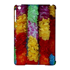 Colorful Hawaiian Lei Flowers Apple Ipad Mini Hardshell Case (compatible With Smart Cover)