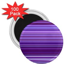 Stripe Colorful Background 2 25  Magnets (100 Pack)  by Simbadda