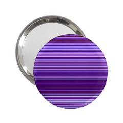 Stripe Colorful Background 2 25  Handbag Mirrors by Simbadda