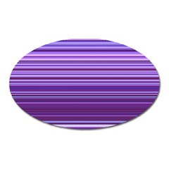 Stripe Colorful Background Oval Magnet by Simbadda