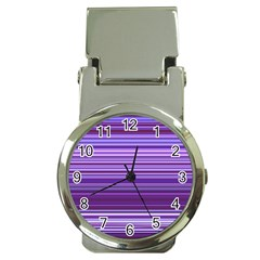 Stripe Colorful Background Money Clip Watches by Simbadda