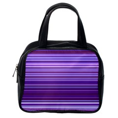 Stripe Colorful Background Classic Handbags (one Side) by Simbadda