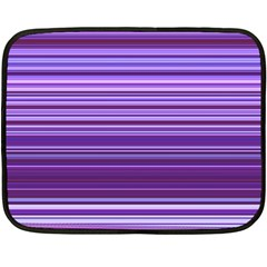 Stripe Colorful Background Fleece Blanket (mini) by Simbadda
