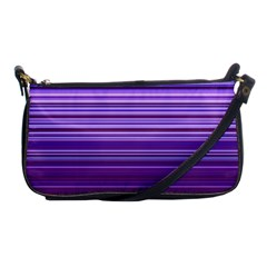 Stripe Colorful Background Shoulder Clutch Bags by Simbadda