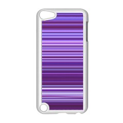 Stripe Colorful Background Apple Ipod Touch 5 Case (white) by Simbadda