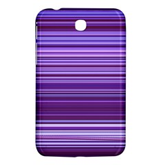 Stripe Colorful Background Samsung Galaxy Tab 3 (7 ) P3200 Hardshell Case  by Simbadda