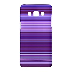 Stripe Colorful Background Samsung Galaxy A5 Hardshell Case  by Simbadda