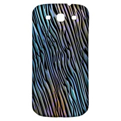 Abstract Background Wallpaper Samsung Galaxy S3 S Iii Classic Hardshell Back Case by Simbadda