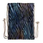 Abstract Background Wallpaper Drawstring Bag (Large) Back