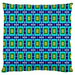 Seamless Background Wallpaper Pattern Large Cushion Case (two Sides) by Simbadda