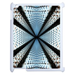 Dimension Metal Abstract Obtained Through Mirroring Apple Ipad 2 Case (white) by Simbadda
