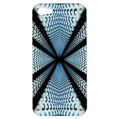 Dimension Metal Abstract Obtained Through Mirroring Apple Iphone 5 Hardshell Case