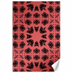 Digital Computer Graphic Seamless Patterned Ornament In A Red Colors For Design Canvas 20  X 30