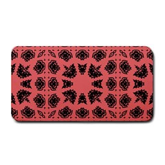 Digital Computer Graphic Seamless Patterned Ornament In A Red Colors For Design Medium Bar Mats by Simbadda