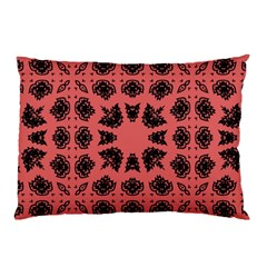 Digital Computer Graphic Seamless Patterned Ornament In A Red Colors For Design Pillow Case (two Sides) by Simbadda